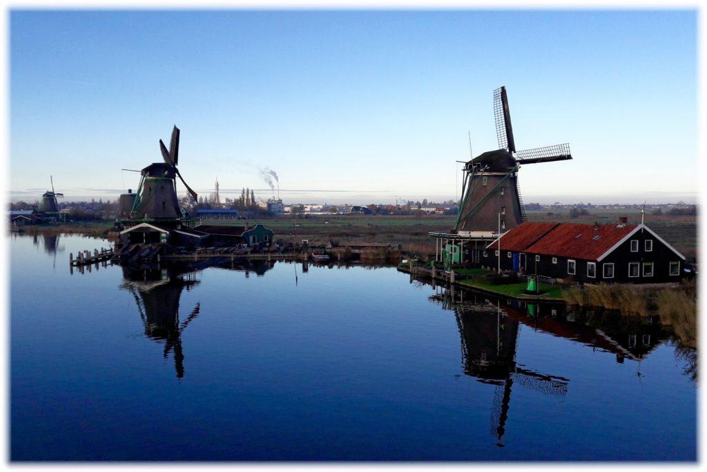 オランダの風車・ザーンセスカンス