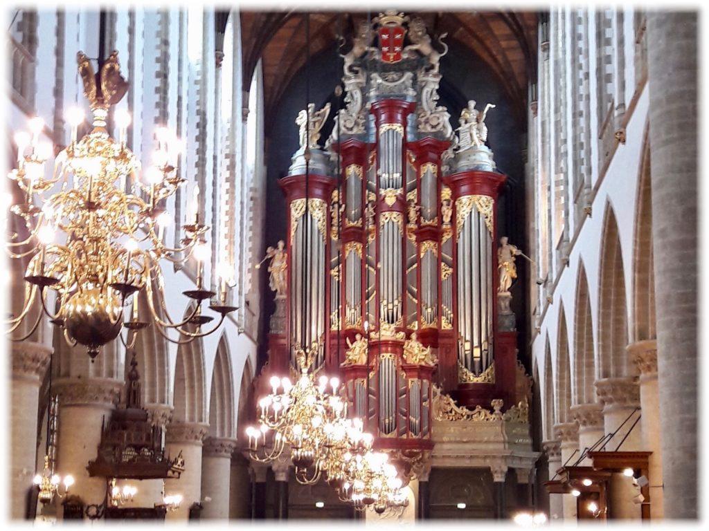 聖バフォ教会のパイプオルガン
