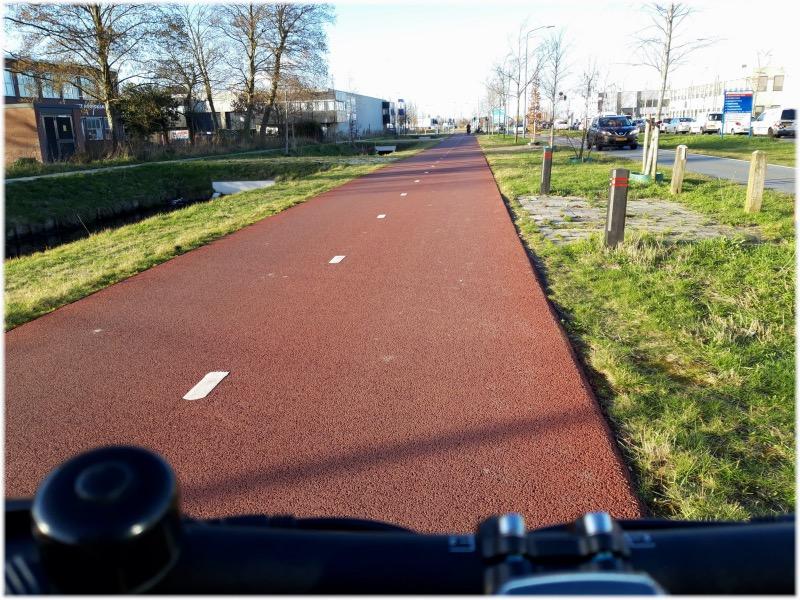 オランダの自転車道