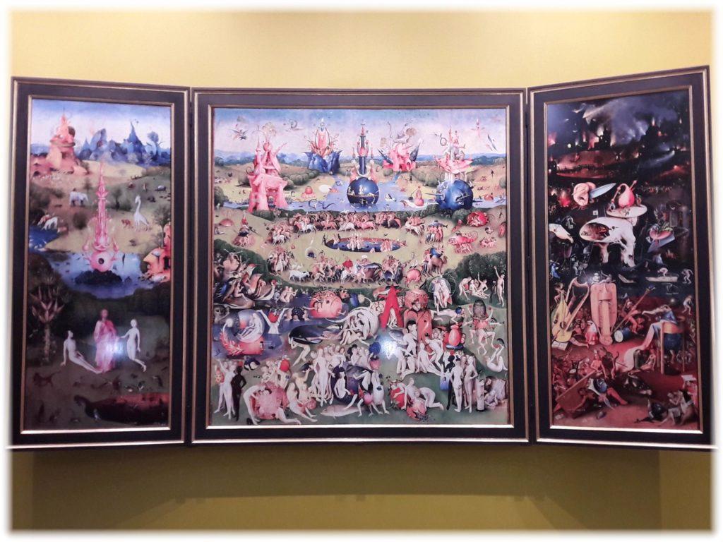ヒエロニムスボス美術館の快楽の園