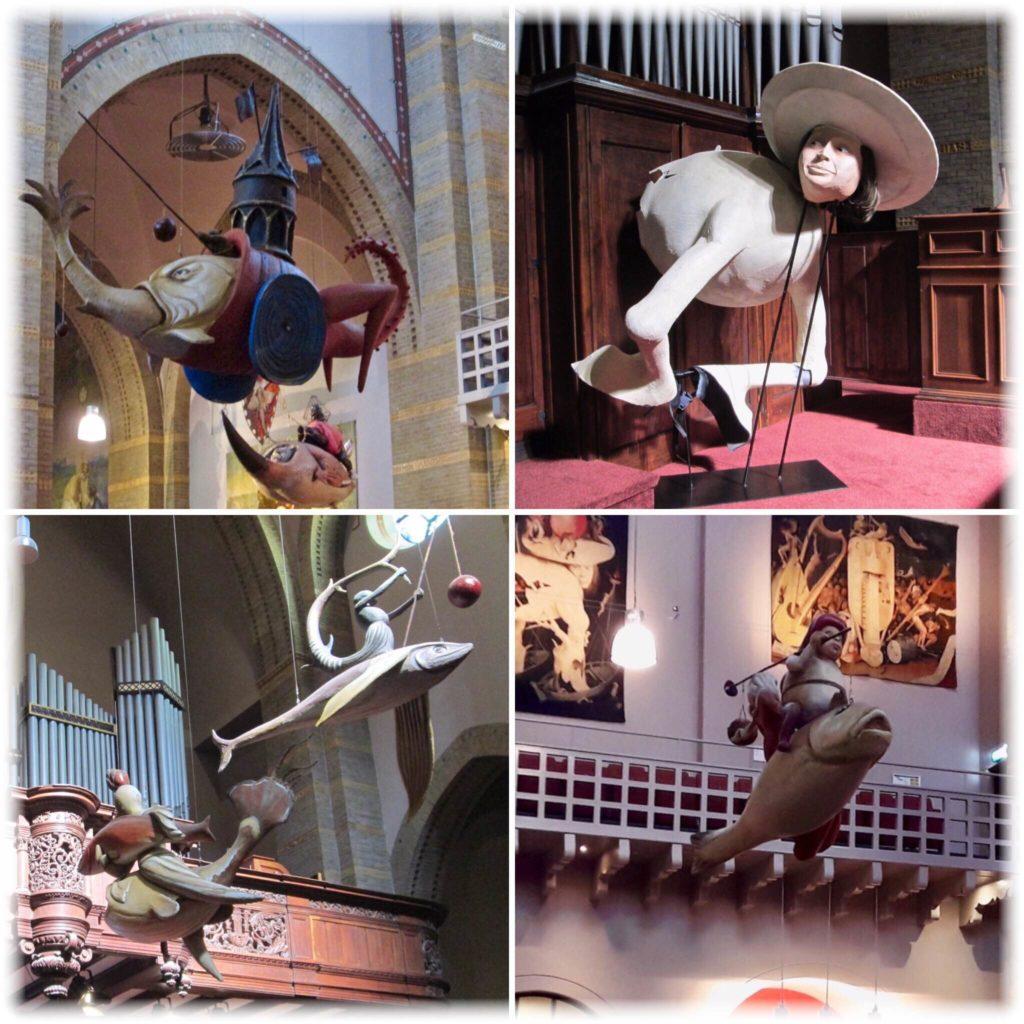ヒエロニムスボス美術館のオブジェ