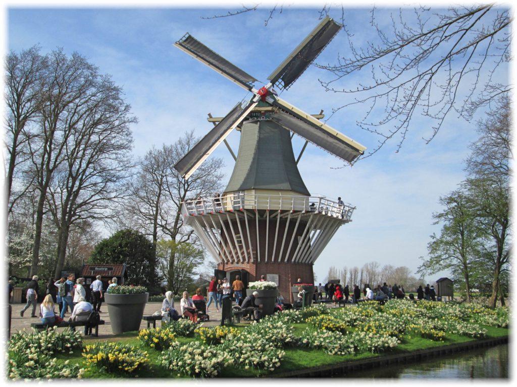 キューケンホフの風車
