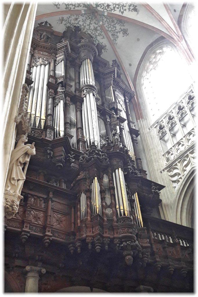 聖ヤン大聖堂のグローテオルガン