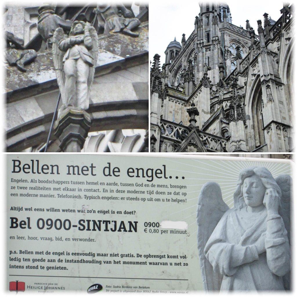 聖ヤン大聖堂天使の彫刻