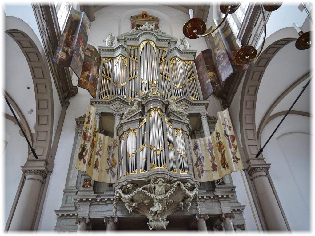 アムステルダム西教会のオルガン