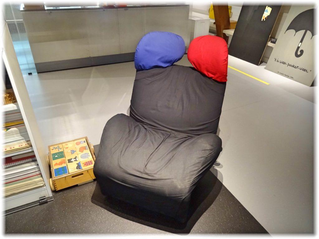 ブルーナさん愛用の椅子