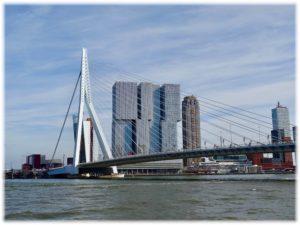 ロッテルダムのエラスムス橋