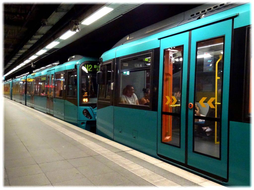 フランクフルトの地下鉄