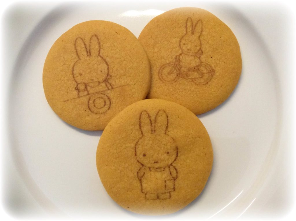 ミッフィーのクッキー