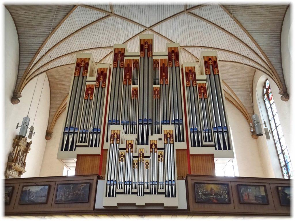 カタリーナ教会のパイプオルガン