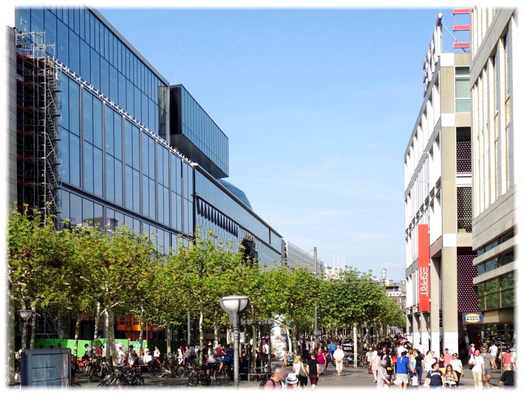 フランクフルトショッピング街