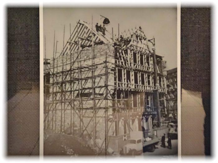 ゲーテハウス再建