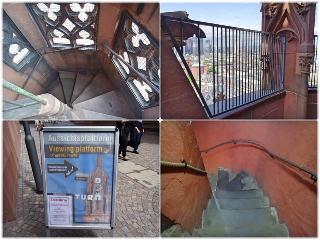カイザードーム塔の階段