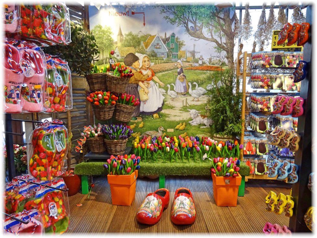 花市場で記念撮影