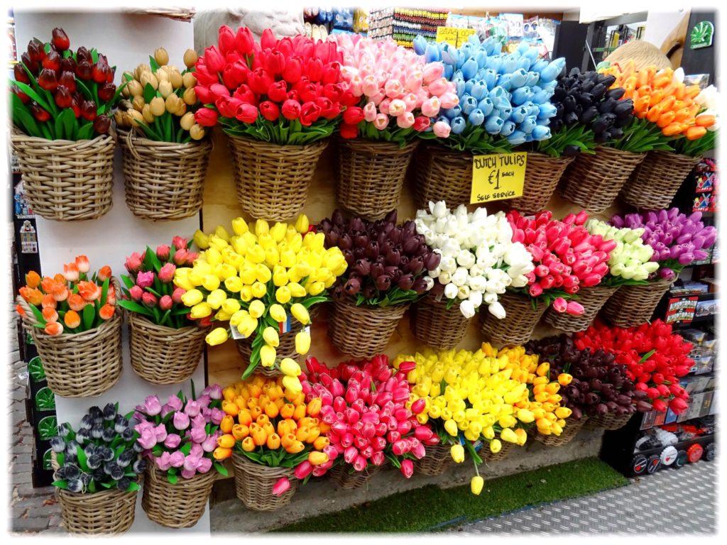造花のチューリップ