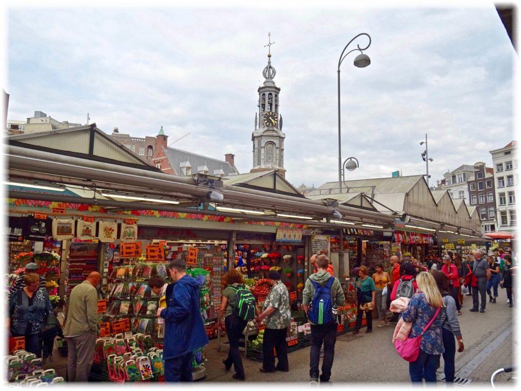 アムステルダム花市場
