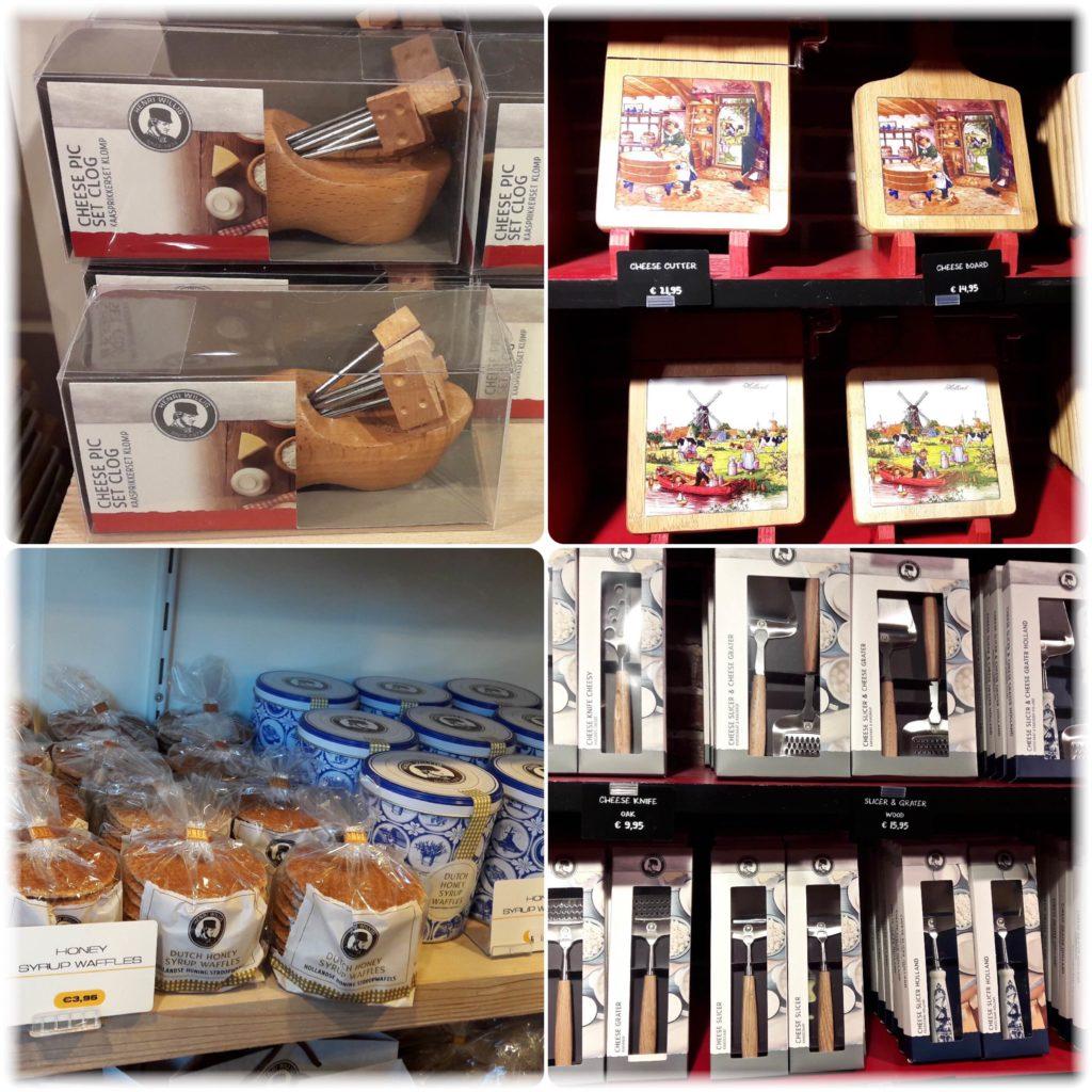 チーズの道具とクッキー