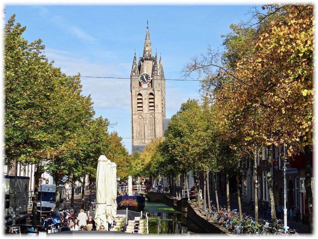 デルフト旧教会の塔