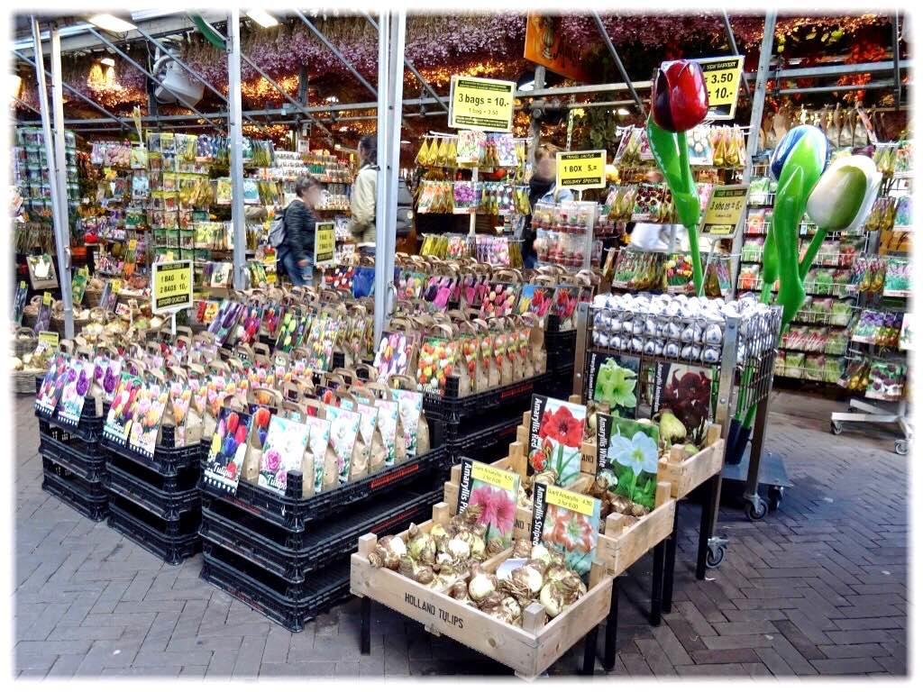 シンゲルの花市場