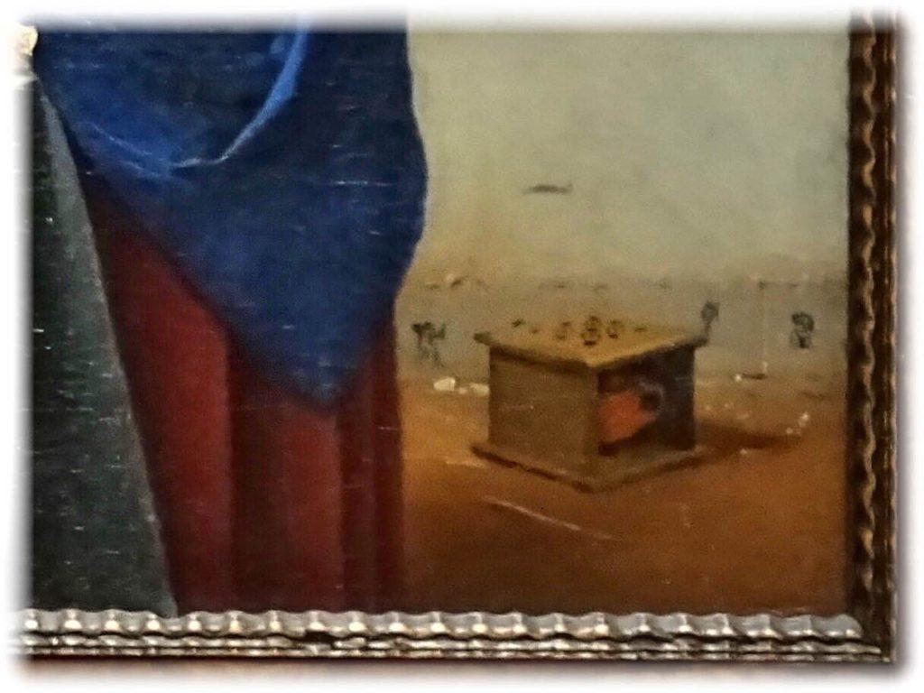 絵画に描かれたデルフト焼タイル