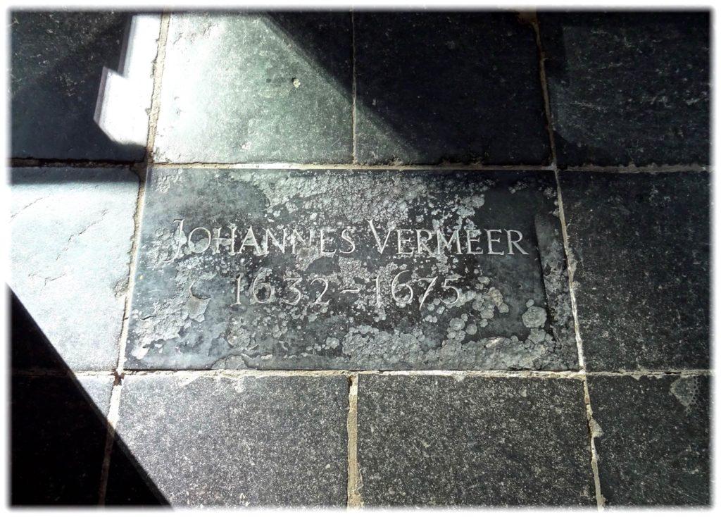 フェルメール最初の墓石
