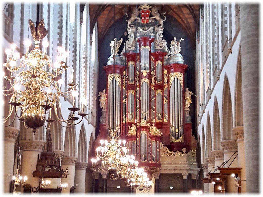 ハーレム聖バフォ教会のオルガン