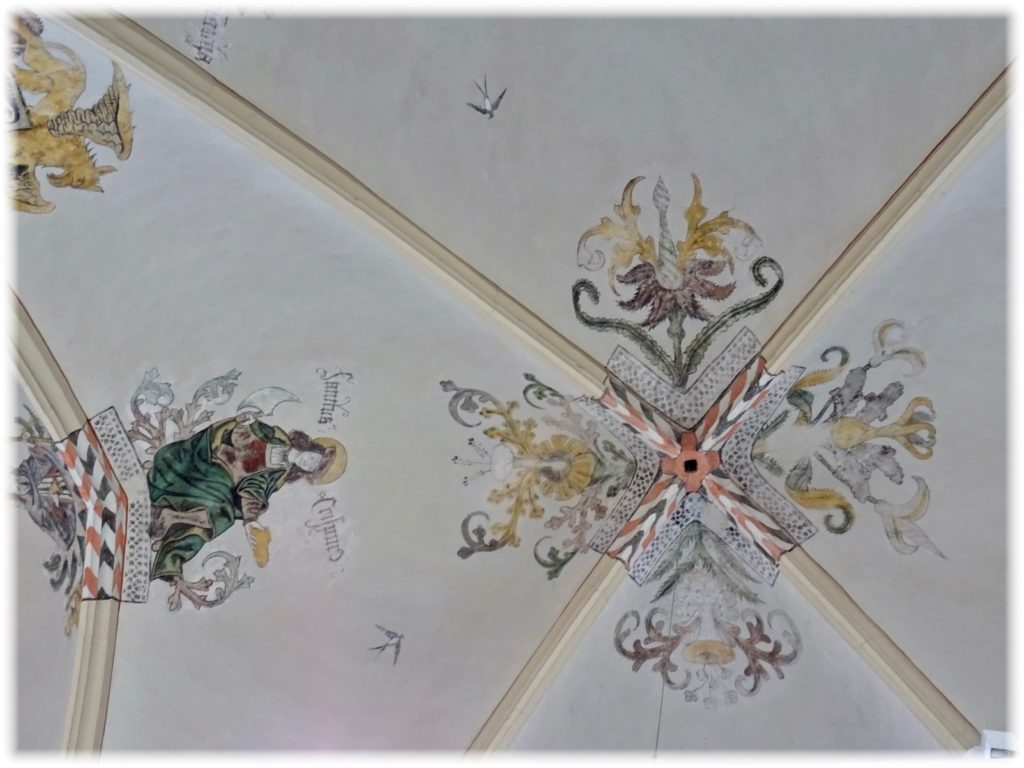 ワーンダース書店の天井