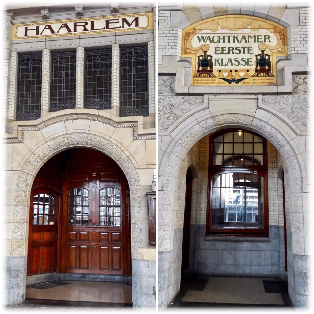 ハーレム駅の待合室