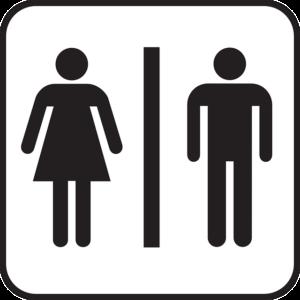 オランダの駅のトイレ