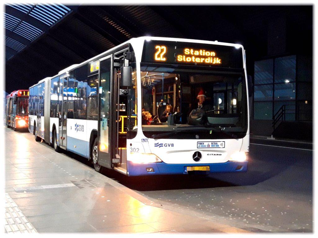 GVBアムステルダムのバス