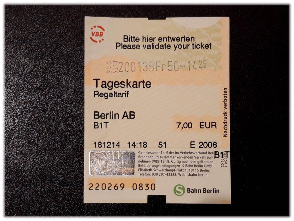 窓口で購入したチケット