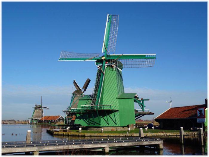 ザーンセスカンスの製材風車