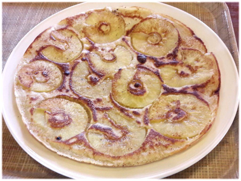 アップルとシナモンのパンネクーク