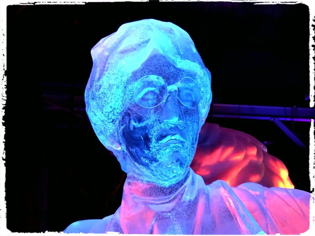 ハリーポッター氷の彫刻フェスティバル