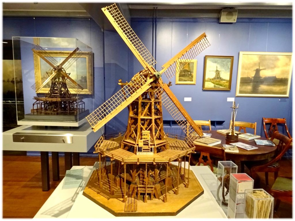 風車博物館の模型