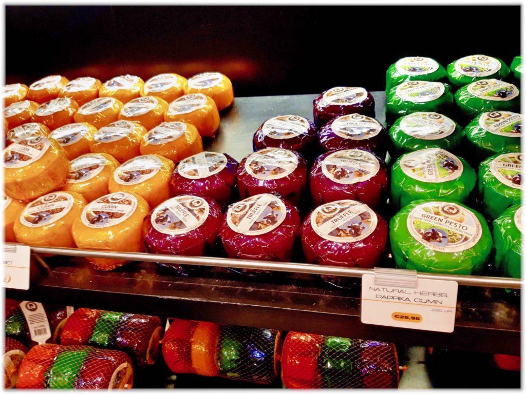 多彩なゴーダチーズ