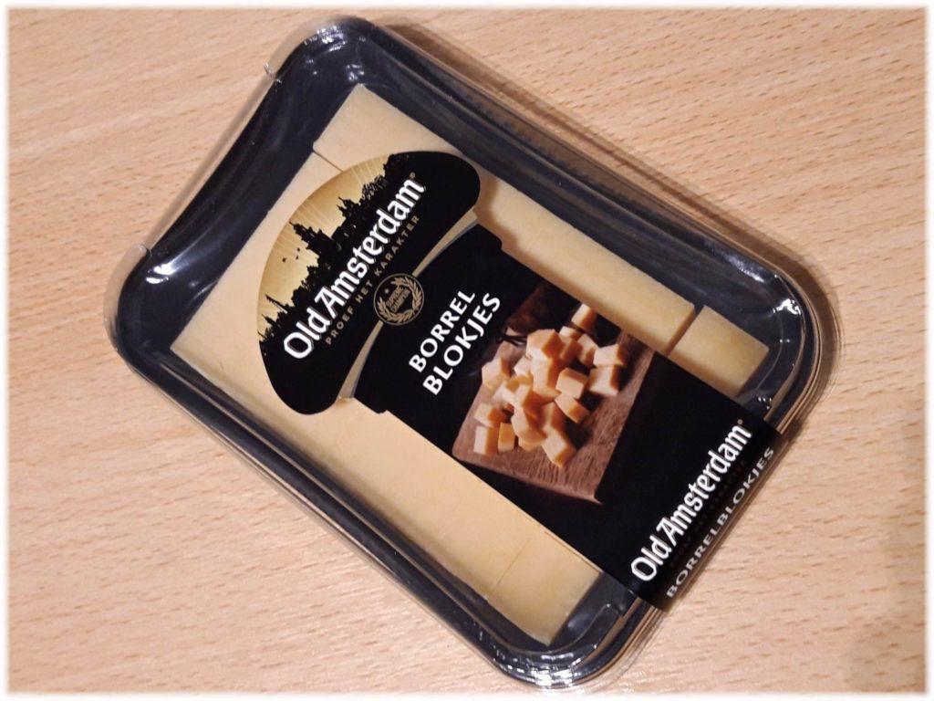 一口サイズのオールドアムステルダムチーズ