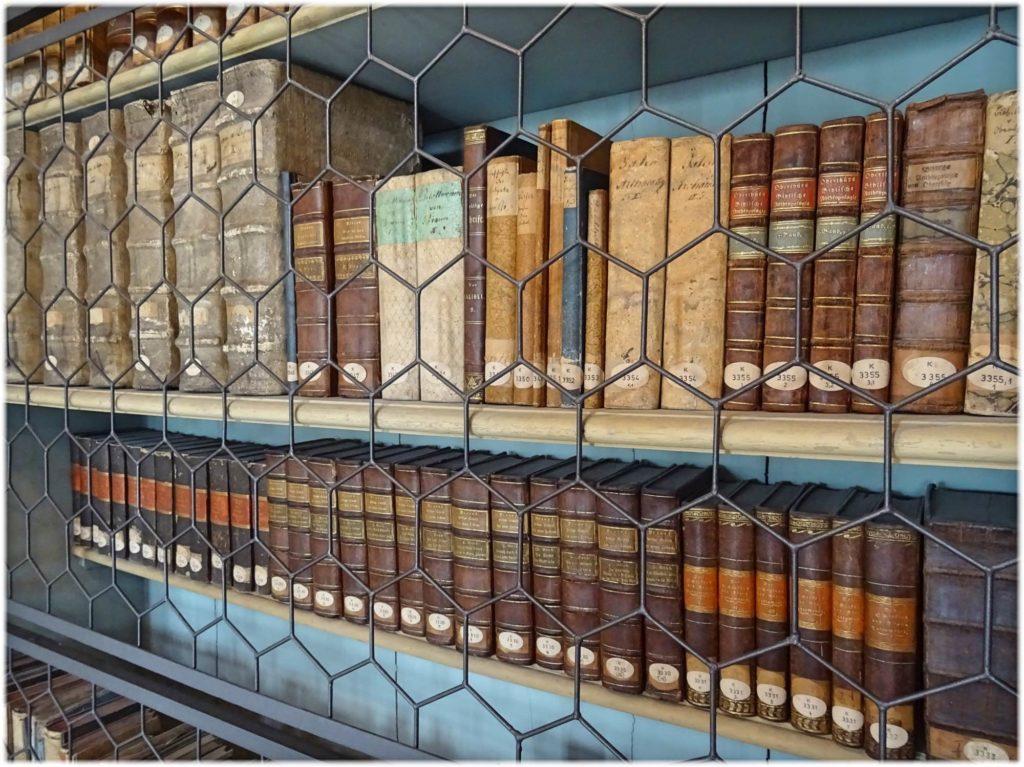 図書館の書物