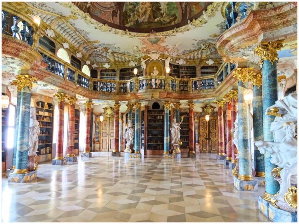 ウルムのヴィブリンゲン修道院図書館