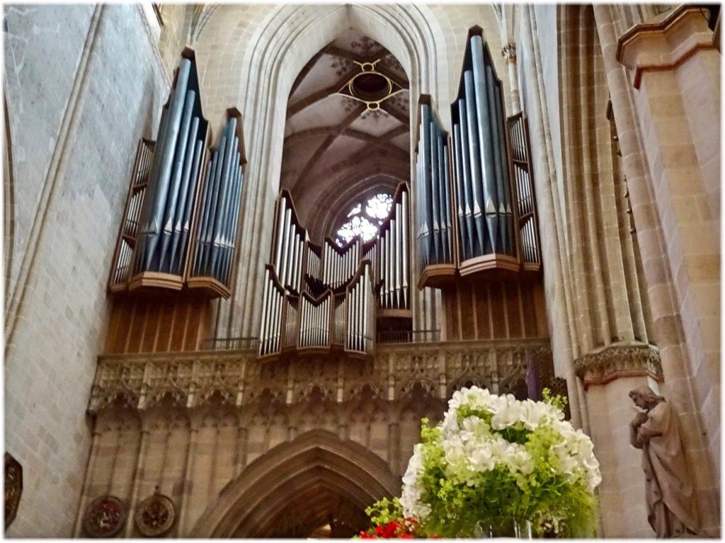 ウルム大聖堂のパイプオルガン