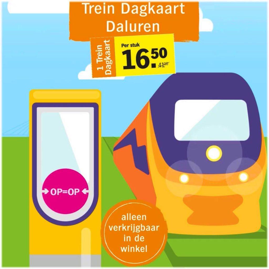 オランダ鉄道1日割引券の使い方