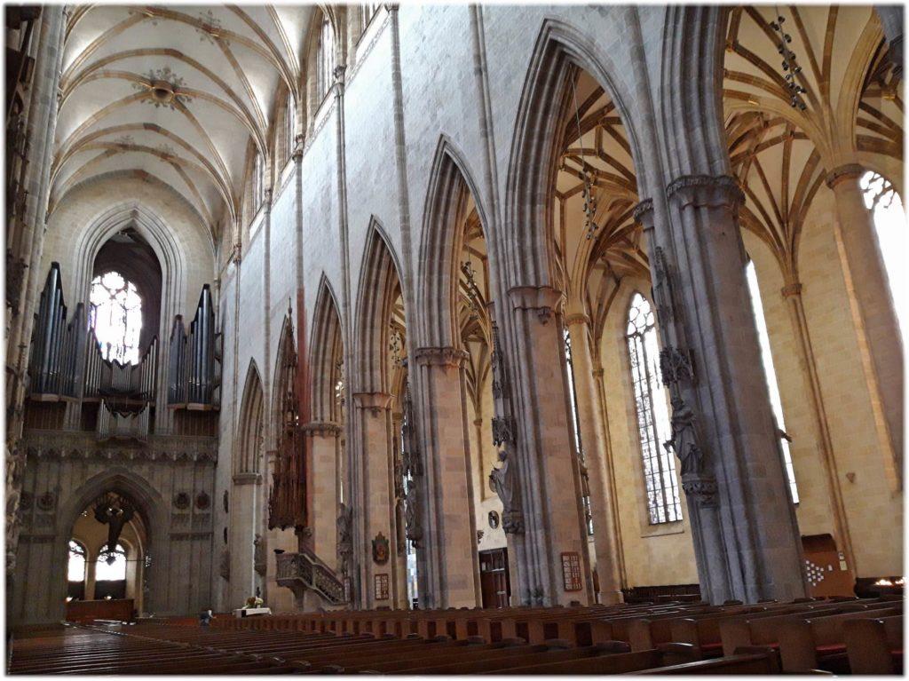 ウルム大聖堂の内装