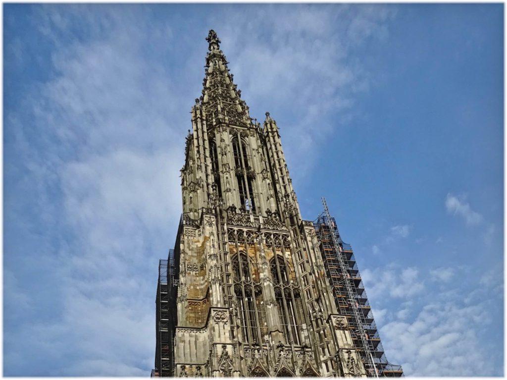 ウルム大聖堂の尖塔