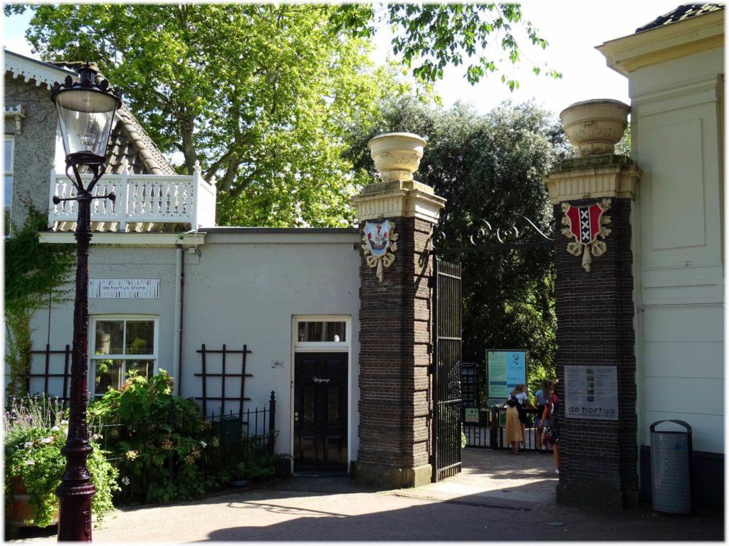 トラムでアムステルダム植物園