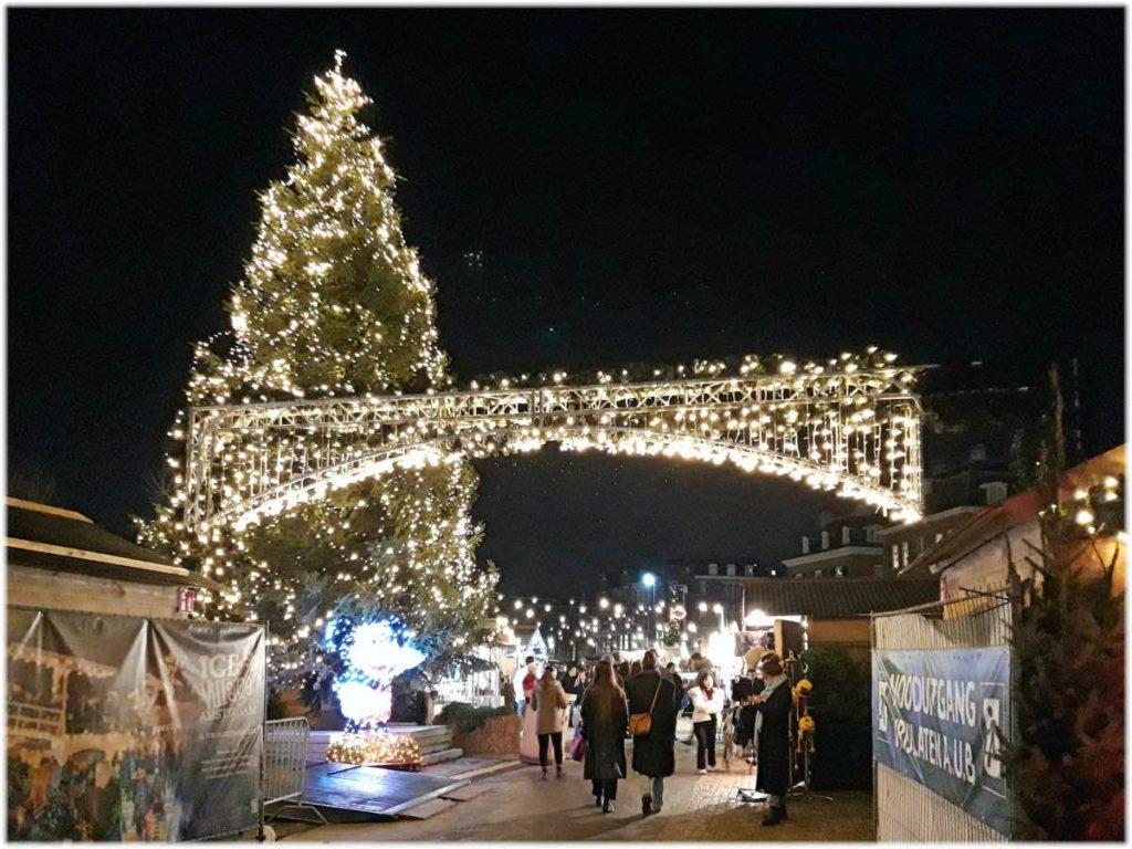 アムステルダムのクリスマスマーケット