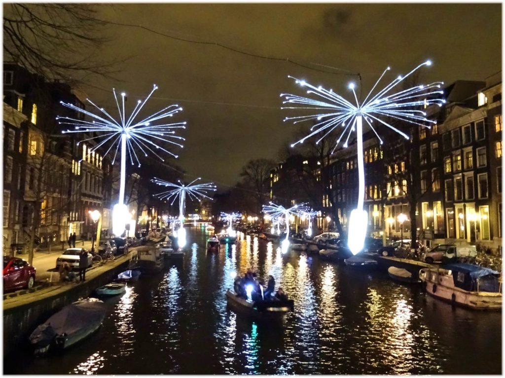 アムステルダムのライトフェスティバル
