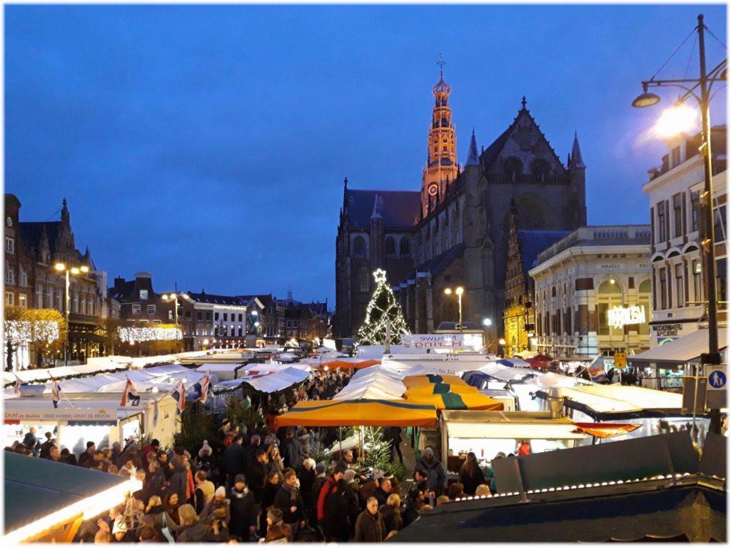 ハーレムのクリスマスマーケット