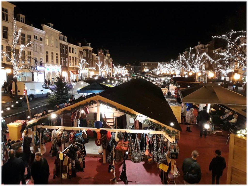 ライデンのクリスマスマーケット