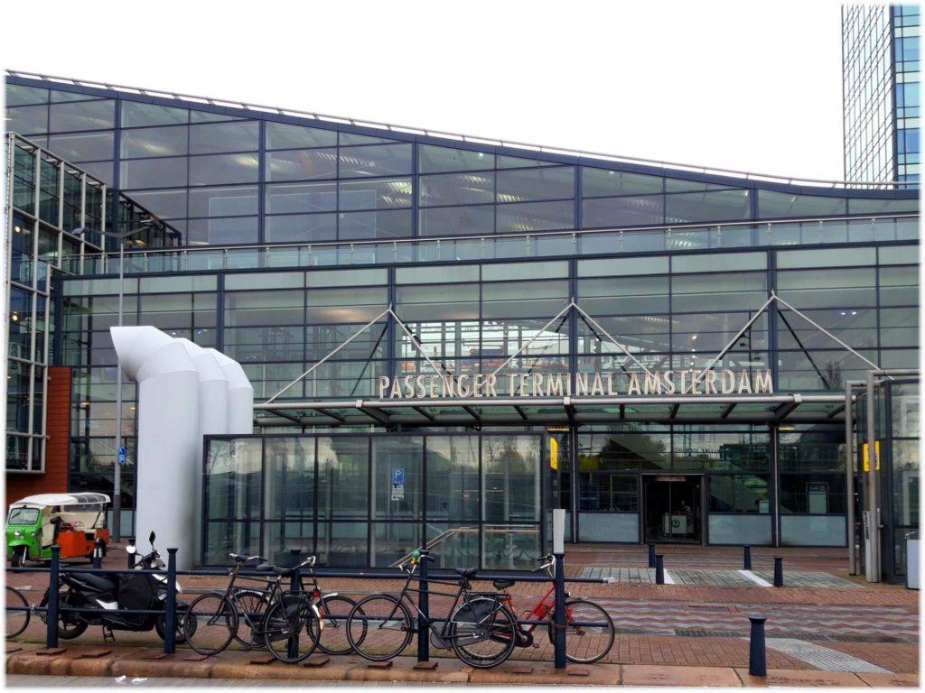 アムステルダムのフェリーターミナル