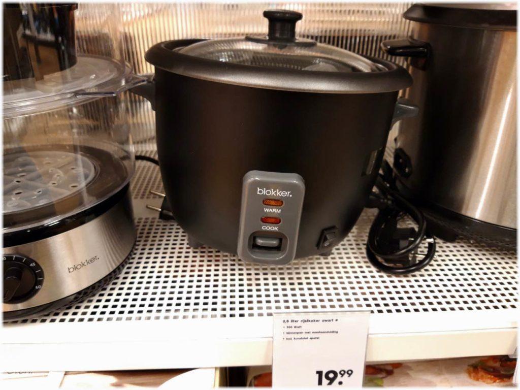 オランダの安い炊飯器